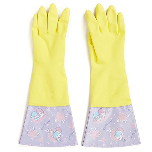 Sanrio Little Twin Stars cute rubber gloves From Japan New (Famous People With Wigs)