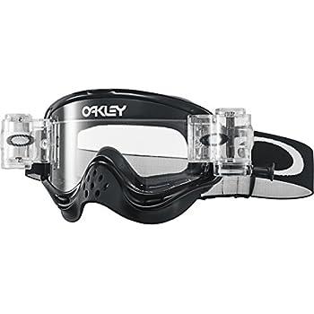 2192347dd4 Oakley O-Frame MX Race Ready Men's Dirt Off-Road Motorcycle Goggles Eyewear  - Jet Black/Clear/One Size Fits All