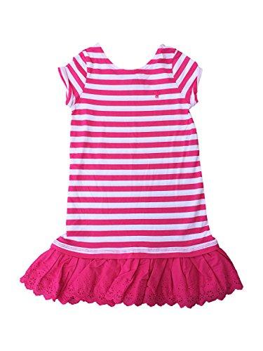 RALPH LAUREN Girl's Classic Casual Dress (6, (Ralph Lauren Pink Dress)