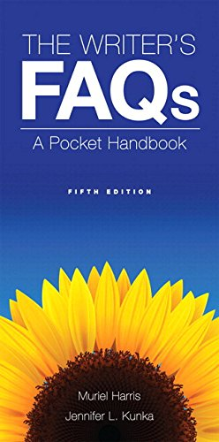 The Writer's FAQs: A Pocket Handbook Plus MyWritingLab -- Access Card Package (5th Edition) (Write On! Pocket Handbooks