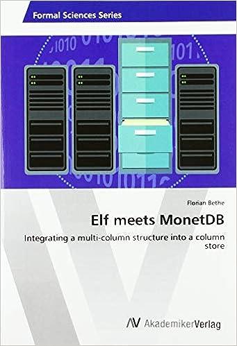 Livre pdf gratuit a telecharger Elf meets MonetDB: Integrating a multi-column structure into a column store