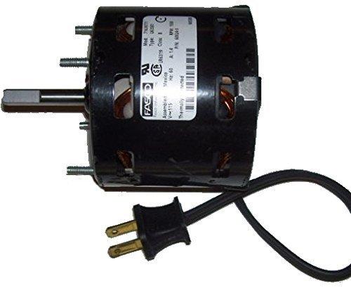 Penn Vent Electric Motor  7163 9771  Zephyr Zj1  1550 Rpm  115 Volt   60024 0