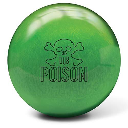 DV8 Poison Pearl Bowling Ball- Radium Green 15lbs (Best Dv8 Bowling Ball)