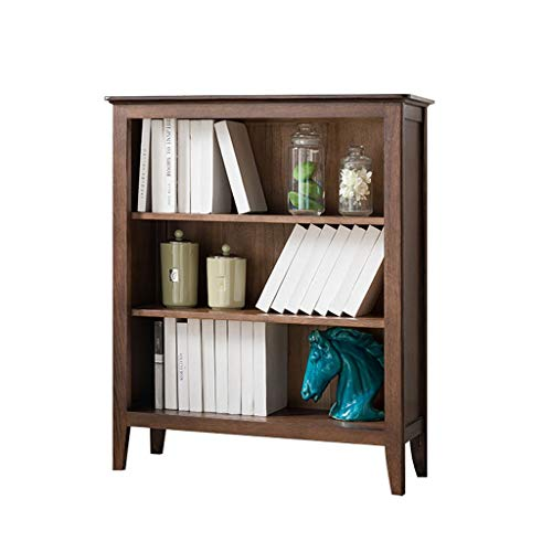 - Lishirao Solid Wood Bookcase, Display Cabinet, CD Storage Cabinet Multi-Function Display Cabinet 3-Layer Bookcase