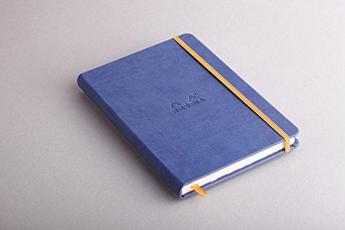 Rhodia Rhodiarama A5 Webnotebook, 5.5 in x 8.25, Lined - Sapphire (118748) by Rhodia (Image #2)
