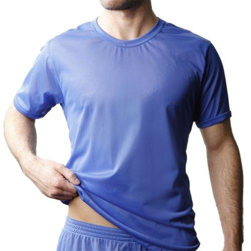 - Players Men's Tricot T-Shirt -Royal-2X