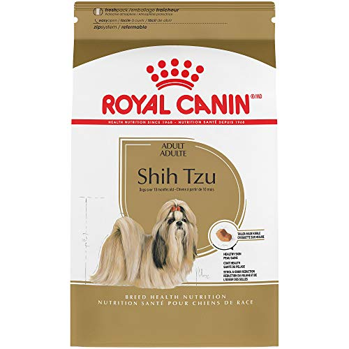 Royal Canin Breed Health Nutrition Shih Tzu Adult Dry Dog Food, 10-Pound (Tzu Shih Bone)