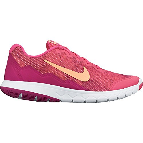 Nike Wmns Flex Experience RN 4 Premium - Zapatillas para mujer Rosa / Blanco