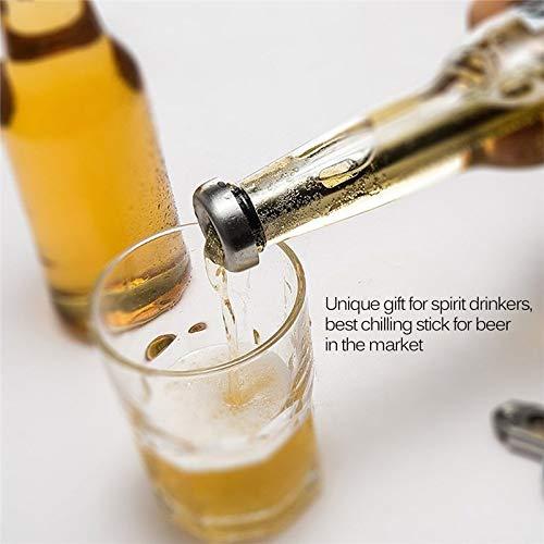 JINQD 2 Unids Refrigerador de Cerveza Enfriador de Cerveza de ...