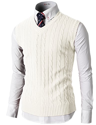 H2H Casual Knitted Twisted Patterned