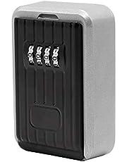 Hengda® Key Safe für Wandmontage Keykeeper Schlüsseltresor Schlüsselsafe Schlüsselbox Zahlenschloss Kasten