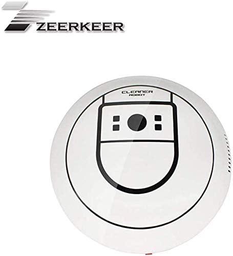 Robot Aspirador y Fregasuelos,Zeerkeer Aspira y Friega Aspiradora con Sensores Barre, aspira, friega y Pasa la mopa ...