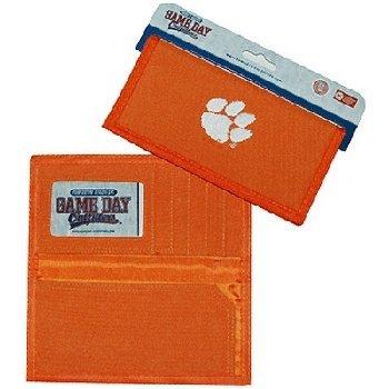 NCAA Clemson Tigers Ladies Wallet with Checkbook Holder