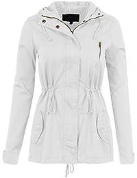Amazon.com: Whites - Trench, Rain & Anoraks / Coats, Jackets ...
