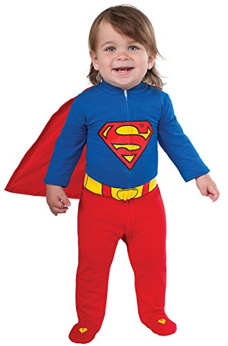 Infant Batman And Robin Costumes (Superman Onesie Baby Costume)