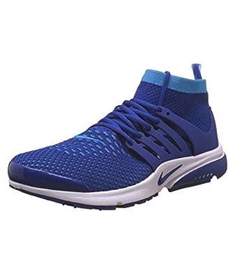 6edc2a374e98 NIKE Men s Presto Flyknit Ultra Blue Running Sport Shoes - 10 UK ...
