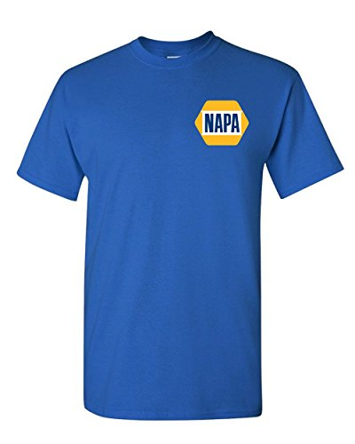 Napa Auto - Napa t Shirt Auto Parts Car Repair Mechanic Shirt Racing t Shirt S-3X (XL, Royal Blue)
