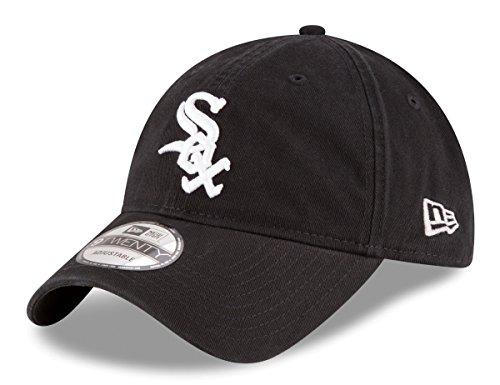 New Era Chicago White Sox MLB Adjustable 9Twenty Hat Black/White