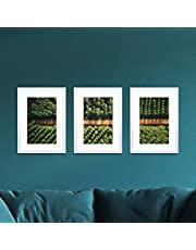 Photo Frame Set 3 PCS A3 Picture Wall Home Decor Art Gift Present White