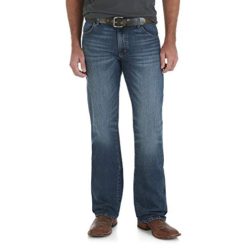 Wrangler Men's Retro Slim Fit Boot Cut Jean, Scottsdale, 36W x 30L