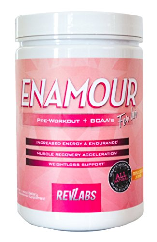 RevLabs ENAMOUR Pre workout Tropical Cocktail product image