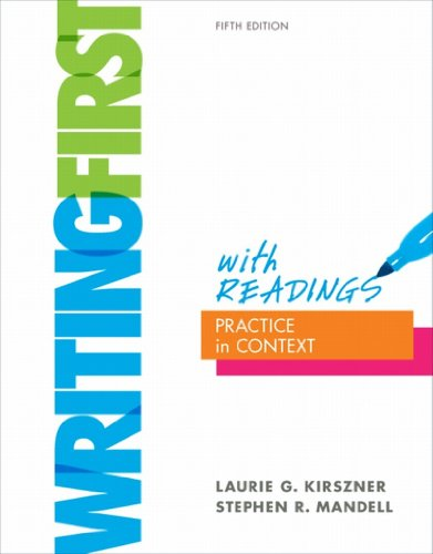 Download Writing First with Readings Pdf