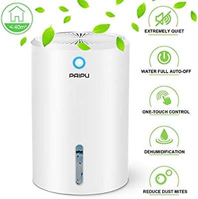 Paipu Dehumidifier 900ml Portable Small Dehumidifiers Electric For Home Bathroom Bedroom Basement Closet Rv Camper Garage Anti Overflow Electric Mini Dehumidifier For Space Up To 431 Sq Ft Amazon Co Uk Kitchen Home