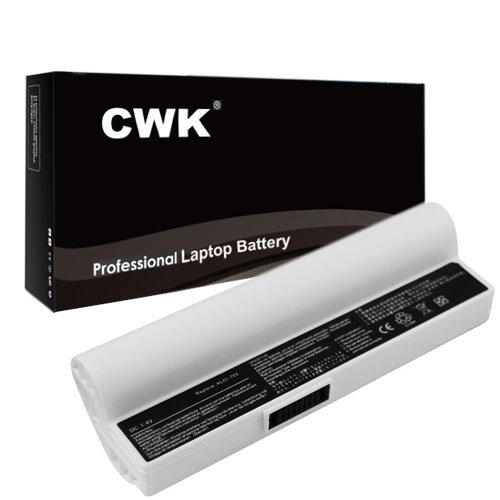 CWK® New Replacement Laptop Notebook Battery for Asus Eee PC SL22-900A 900-W072X 900-W047 900-BK039X 900-BK028 Asus EeePC 900SD 900-BK010X 900-BK041 900-W017 900-W012X ASUS EEEPC 703 /900A /900HA /900HD EEEPC900A-WFBB01 Asus Eee 703 900A 900HA AL22-703 S by KWC