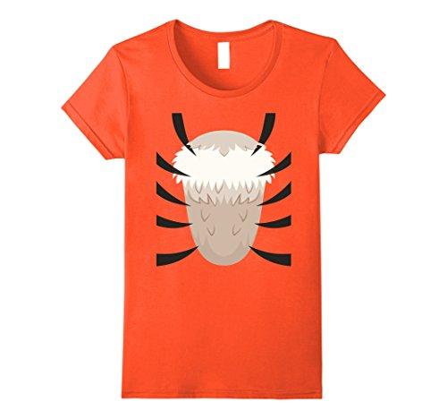 [Womens Tiger Costume T-Shirt - Last Minute Halloween Costume Small Orange] (Last Minute Cheap Halloween Costumes)