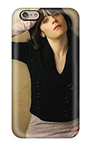 Durable Case For The Iphone 6- Eco-friendly Retail Packaging(zooey Deschanel People Women)