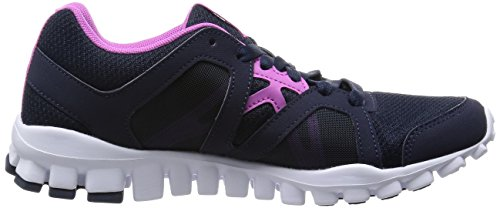 Donna Indigo Nero Silver Met 2 Fitness 0 Ultra Realflex Faux Berry Train Reebok Scarpe White Rs T6Ra0Hnyq