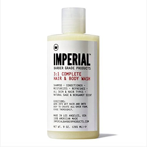 Imperial Barber Products 3:1 Complete Hair & Body Wash by Imperial Barber (Imperial Barber Gel compare prices)