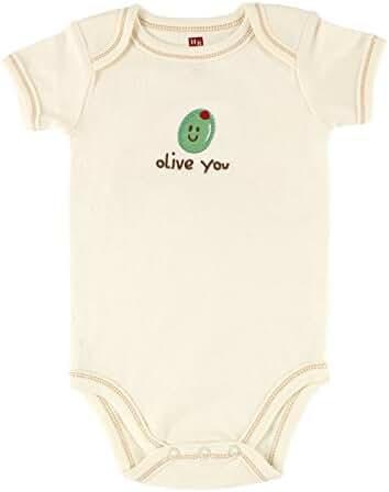 Hudson Baby Natural Organic Bodysuit
