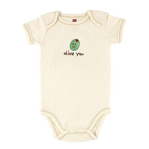 hudson-baby-organic-sayings-bodysuit-olive-6-9-months