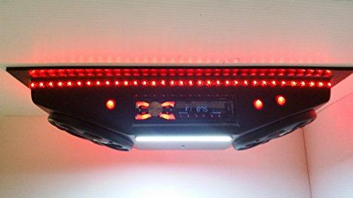 Custom Golf Cart Radio UTV Overhead Stereo Console with Bluetooth