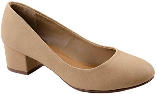 Scarpe Classificate Da Donna Scarpe On-line Slip-on On-line Chiuse Da Donna In Pelle Scamosciata E Nabuk Con Tacco A Spillo Nat