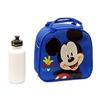 Bolsa de almuerzo de Mickey Mouse de Disney con correa para el hombro y botella de agua (1) por Unknown