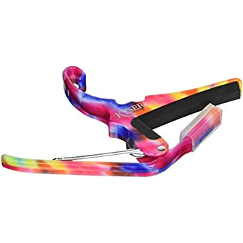 Kyser Quick Change Guitar Capo in Tie-Dye Finish