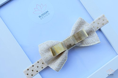 Burlap and Gold Bow, Burlap Headband-Gold Headband, Baby Bow, Baby Bow Headband, Toddler Headband-Newborn Headband, Headbands For All Ages, Headbands For Babies and Toddlers, Ready To Ship