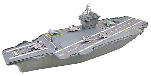 Electronic Aircraft Carrier W/6 Aircraft & Sound by DARON...