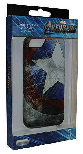 Performance Designed Products IP1915 Marvel Legendary Armor Case for iPhone 5 & 5s - Captain America - Retail Packaging - Multicolor