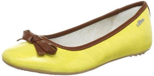 s.Oliver Casual - Bailarinas de material sintético mujer amarillo - Gelb (Yellow 600)