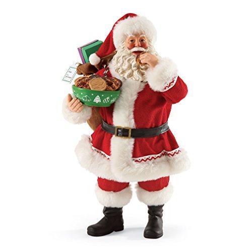 Department 56 Possible Dreams Girl Scout Cookies for Santa Figurine, 10.5 inch (Santa 56 Dreams Possible)