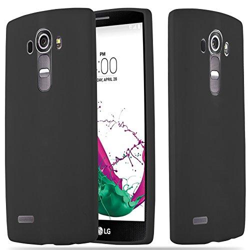 Cadorabo - Cubierta protectora LG G4 de silicona TPU en diseño Candy - Case Cover Funda Carcasa Protección en AZUL-CANDY NEGRO-CANDY