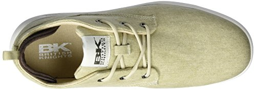 British Knights Herren calix Sneaker Beige (sand/dk brown)