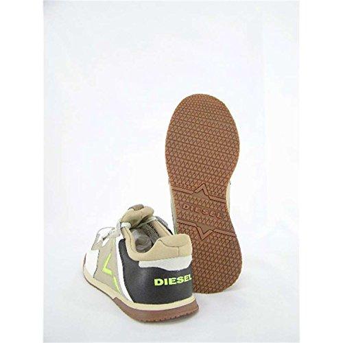 Diesel Mens Remmi-v S-furyy Sneaker Bianco Sporco