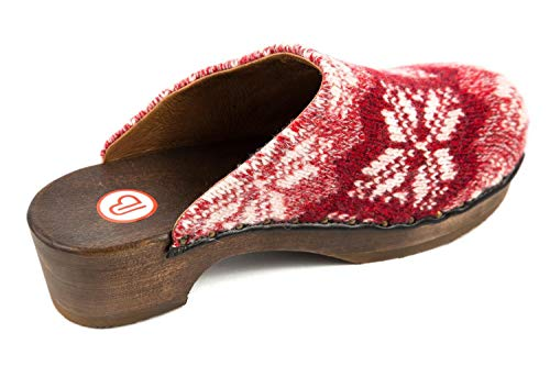 5 US Red Clogs Womens UK 5 Wood Berkemann 7 5 qwa4HAqOB