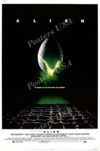 Posters USA - Alien Movie Poster GLOSSY FINISH - MOV007 )