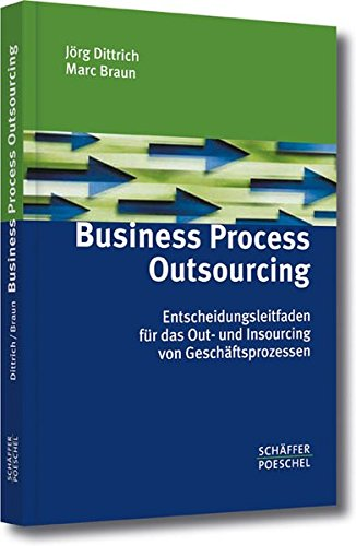 Business Process Outsourcing. Entscheidungs-Leitfaden für das Out- und Insourcing von Geschäftsprozessen Gebundenes Buch – 16. April 2004 Jörg Dittrich Marc Braun Schäffer Poeschel 3791022857