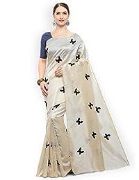 8f8bd78c935 CRAFTSTRIBE Printed Art Silk Bollywood Saree Party Wear Indian Ethnic  Wedding Sari